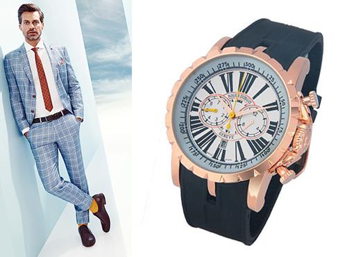 мужские швейцарские часы Roger Dubuis