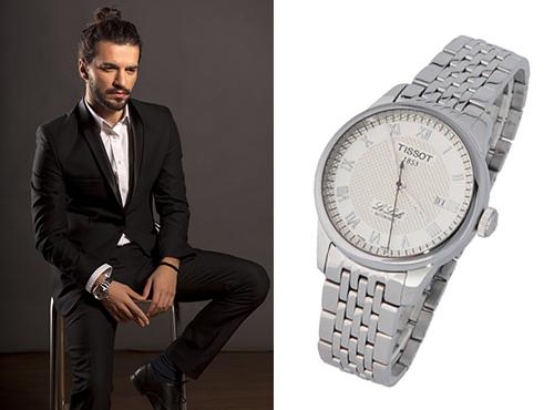 Мужская копия часов Тиссот Т-Классик на браслете