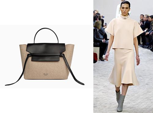 Кожаная сумка от Celine (Селин)