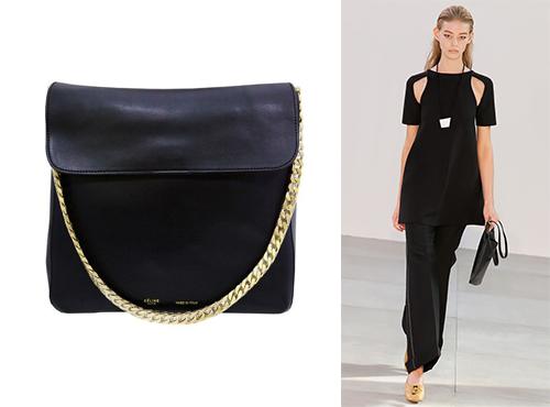 Кожаная женская сумка Celine (Селин)