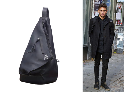 Мужской рюкзак из кожи Loewe (Лоэйве)