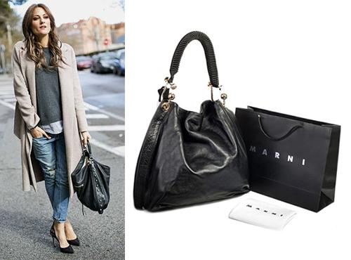 Женская сумка из кожи Marni (Марни)