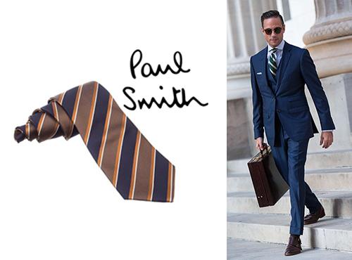 Мужской галстук Paul Smith (Пол Смит)
