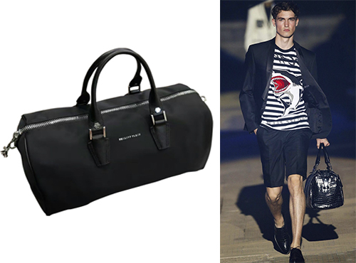 Кожаная мужская сумка от Philipp Plein (Филипп Плейн)