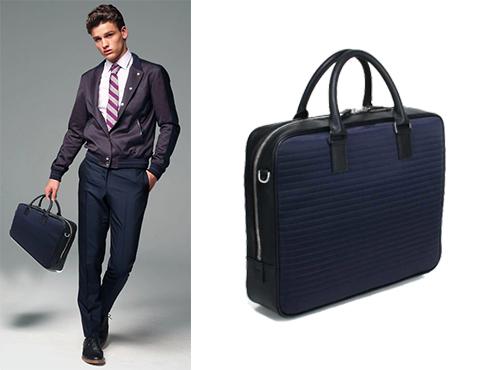 Мужская сумка из кожи by Dior