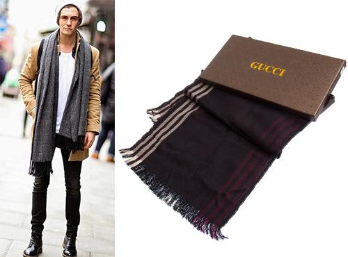 Мужской шарф от Gucci