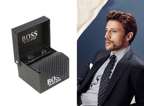 Мужской галстук от Hugo Boss