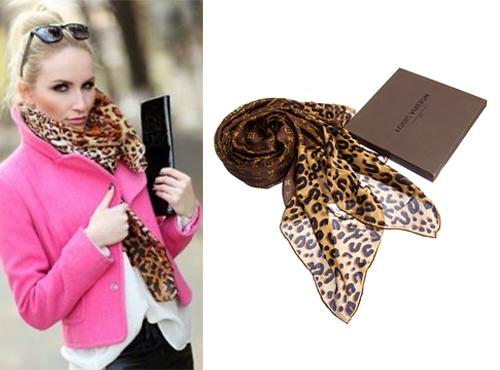 Женский брендовый платок от Louis Vuitton