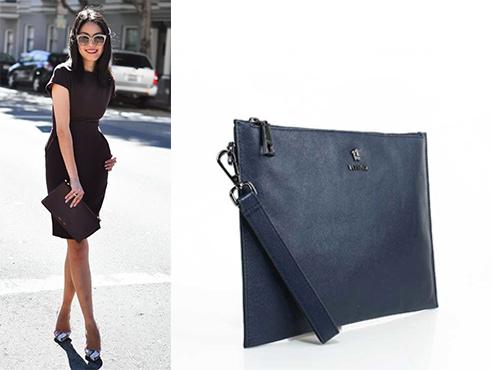 Фірмовий жіночий клатч Versace на блискавці