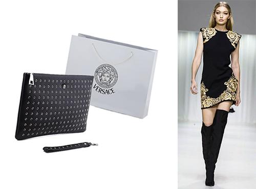Клатч-бокс жіночий від Versace