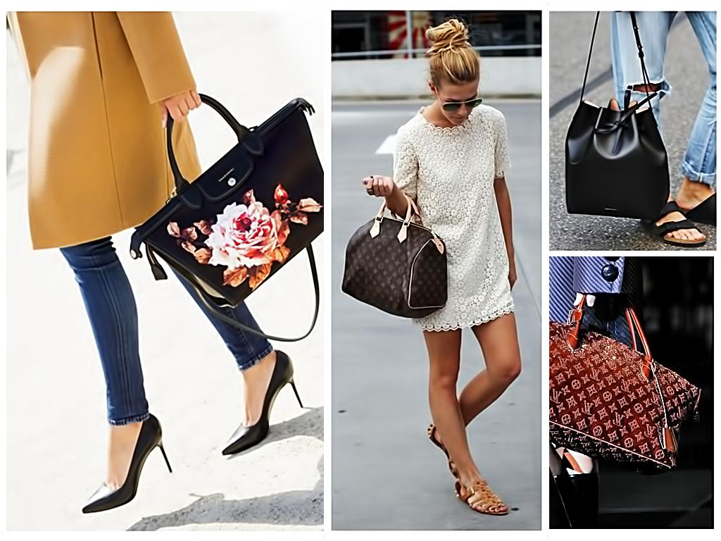 Жіноча сумочка - невід'ємна частина завершеного образу
