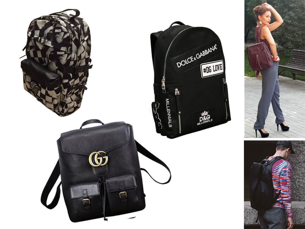 Рюкзак идеально подходит для небольшого путешествия или городской прогулки