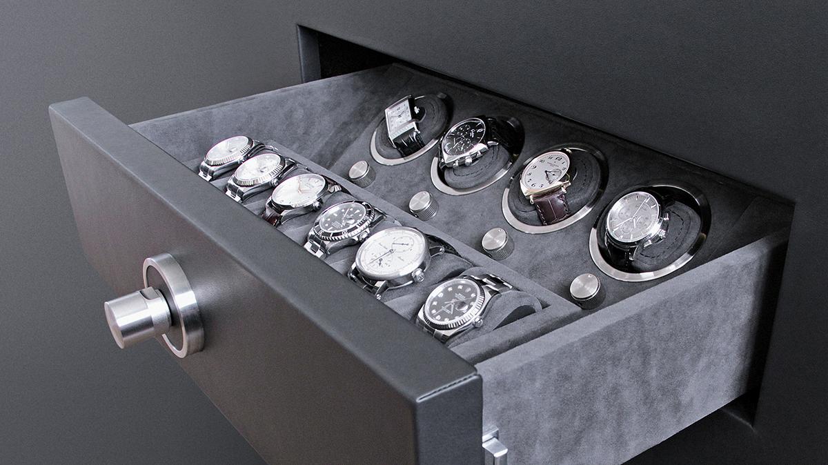 Зберігання механічних годинників з автопідзаводом