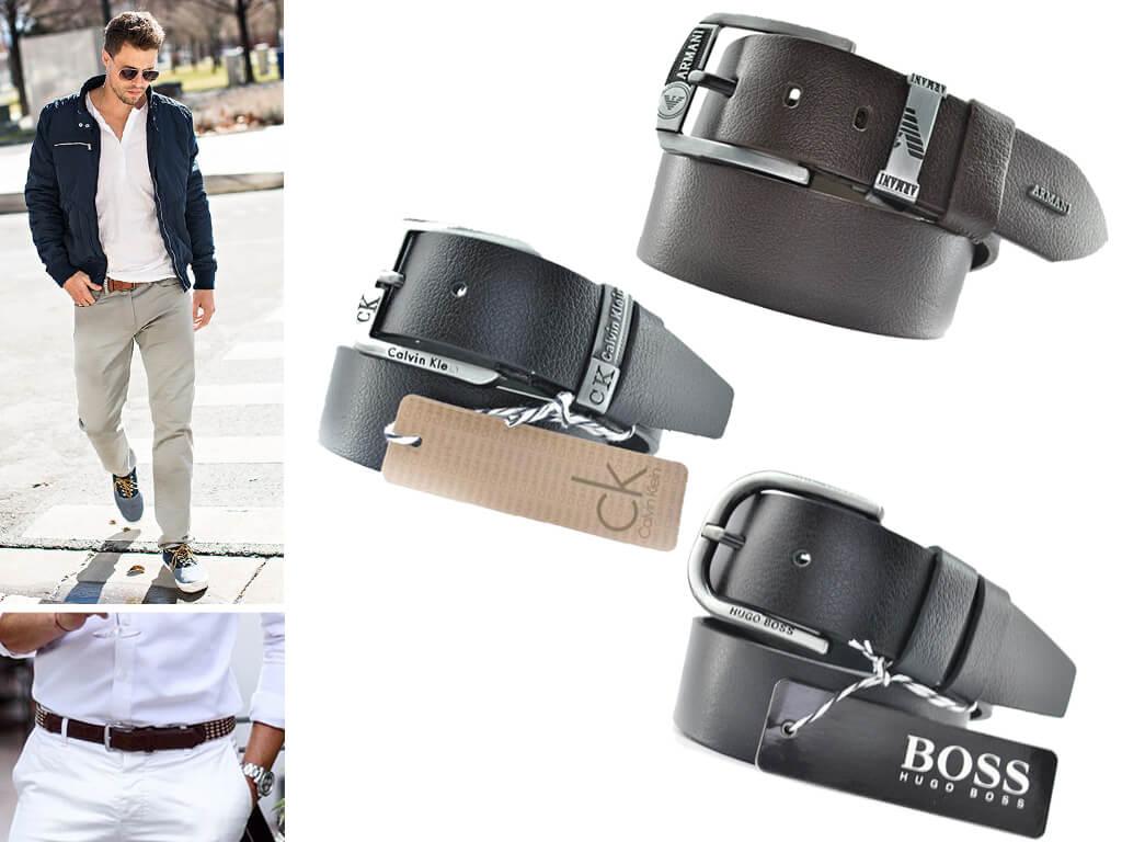Класичний ремінь - універсальний варіант: його можна надіти і з костюмними брюками, і з неформальними джинсами