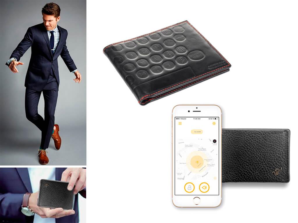 Гаманці ХХІ століття - з функціональної клавіатурою і здатністю синхронізації зі смартфоном для захисту від грабіжників