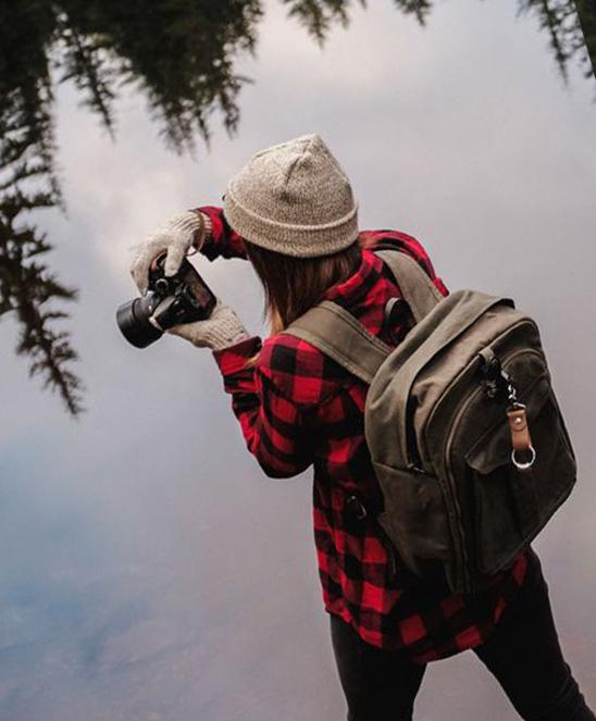 Рюкзак незаменим в любом путешествии