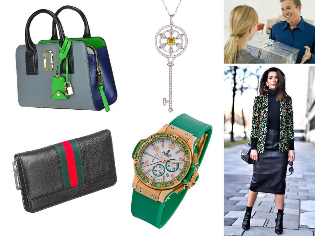 Шкіряні сумки і стильні годинники ніколи не перестануть радувати жінок
