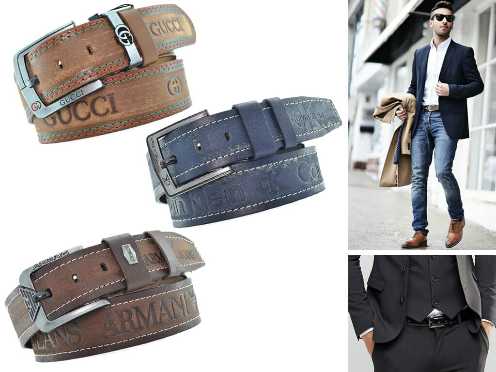 """Коричневий шкіряний ремінець - ідеальний варіант """"під джинси"""""""