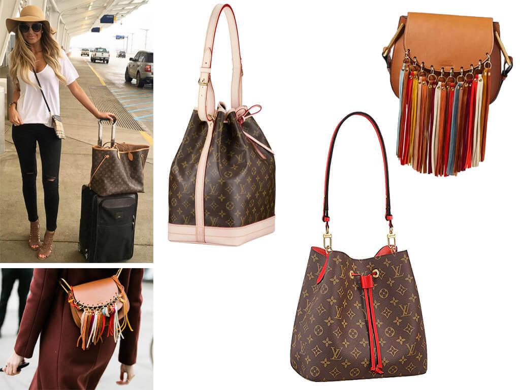 Сумка-мішок і сумки з бахромою допомагають у створенні романтичного образу