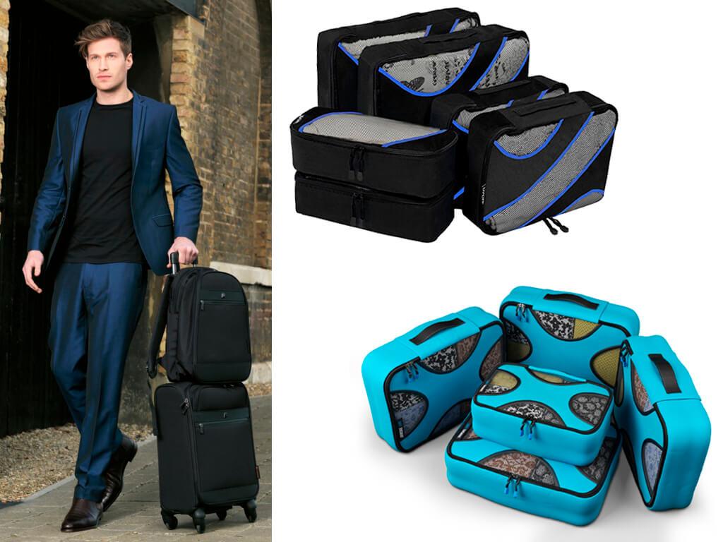 Пакувальні сумки економлять місце у валізі і зберігають естетичний вигляд речей