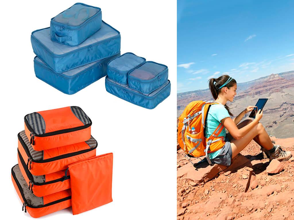 Сумки-кубики стануть в нагоді і тим, хто любить подорожувати з рюкзаком