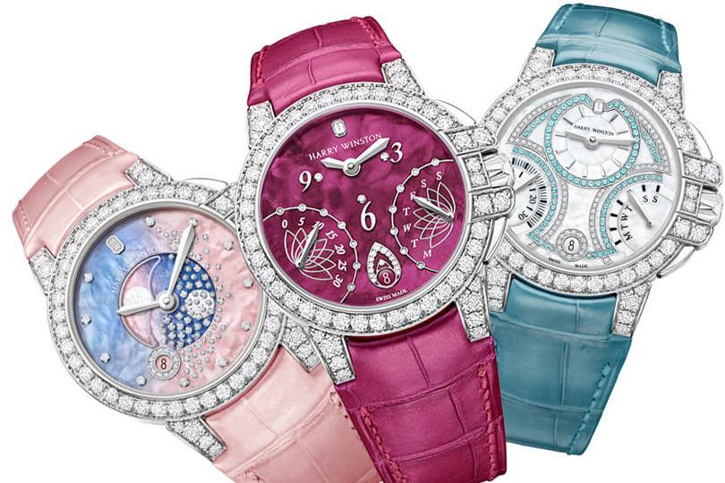 Ювелірні годинники Harry Winston