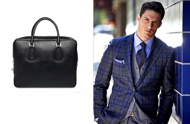 Чоловіча сумка-портфель - ідеальний варіант для вигляду в діловому стилі