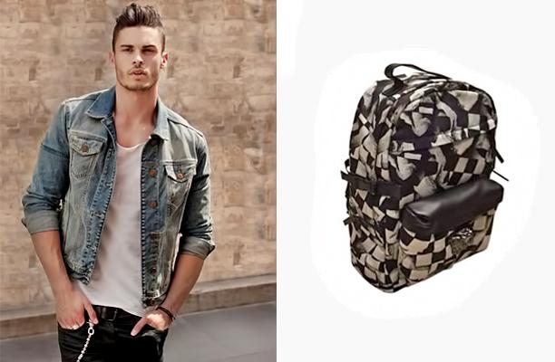 Для молодіжних і спортивних сумок і рюкзаків може бути використана текстильна основа з принтами