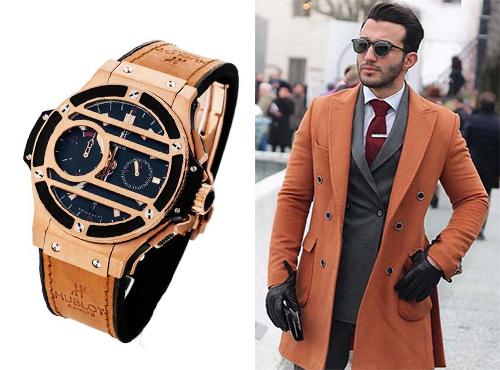 Чоловічі годинники Hublot  ціни 47e837127d966