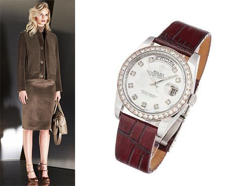 Жіночі годинники Rolex  ціни ad0af311b66b3