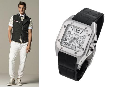 Часы Cartier мужчине