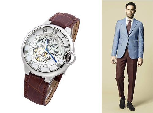 Наручные мужские часы Cartier