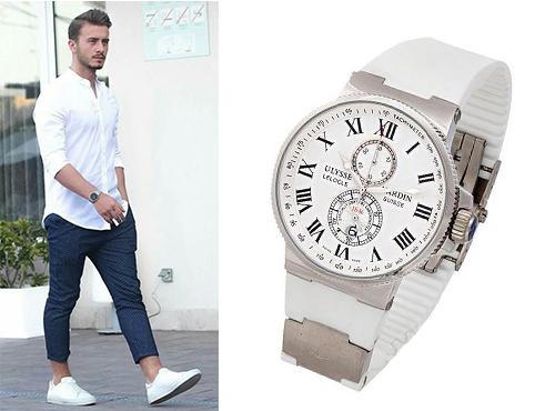 Чоловічі годинники Ulysse Nardin  ціни 04b31a7b20969