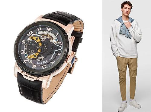 Наручний чоловічий годинник Улісс Нардін fa0e16c160a65