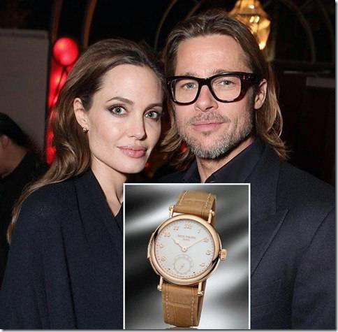 Часы Patek Philippe Minute Repeater Бреда Питта и Анжжелины Джоли